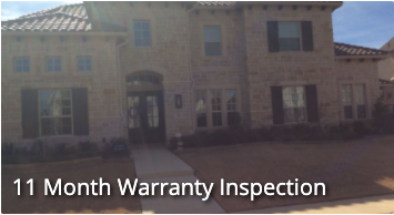 11 Month Warranty Inspection