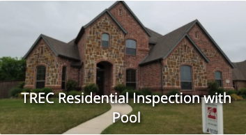 TREC Residential Inspection with Pool