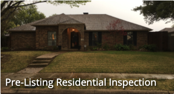 Pre-listing Residential inspection